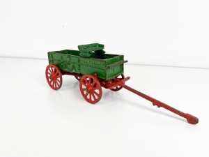 1/16th John Deere Vindex Farm Wagon with Seat and Running Gear