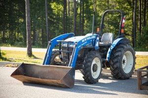 New Holland Worksmaster 55, 2006 hours