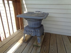 4 Burner Cast Iron Stove