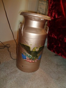 Decorative Milk Can