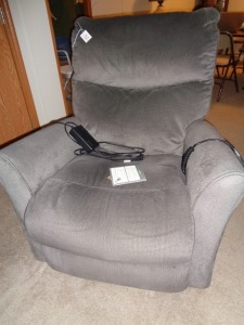 Lazy Boy Electric Recliner Grey