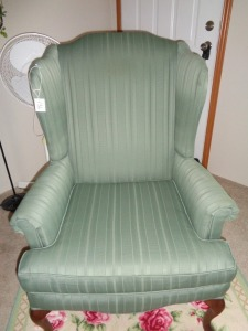 Sea Green Occasional Chair