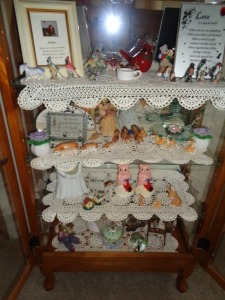 Contents of Display Cabinets