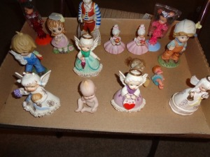 Assorted Ceramic figurines