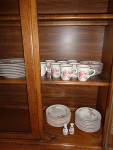 Gibson China Set Service for 8