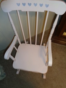 Child Wooden Rocker