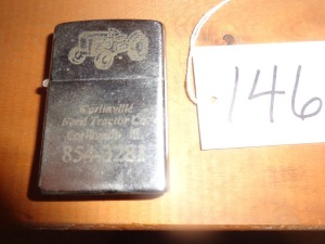 Carlinville Ford Tractor Company Lighter