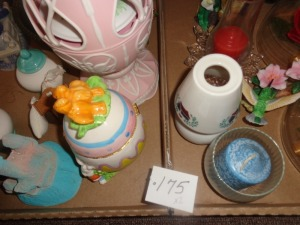 misc. glass, novelty, music egg. Etc..