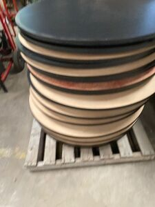 19 Round Table Tops - Approx 3 ft