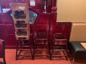 HIGH CHAIR AND BOOSTER SEAT LOT