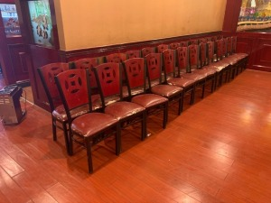 (26) Restaurant Chairs LOT