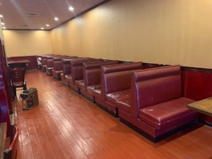 (9) 4 FT Booths Lot