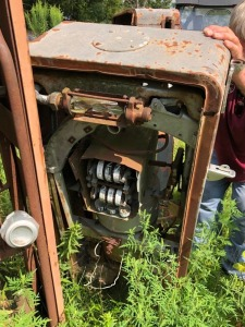 Gas Pump Shell and Insides No Doors