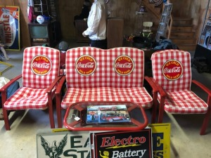 4-Pc Coca-Cola Patio Set