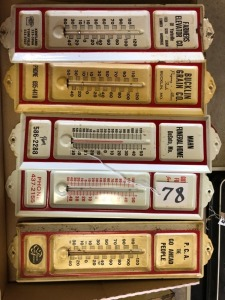 5 Thermometers,