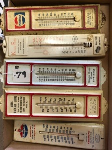 5 Thermometers