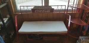 COKE BENCH AND CORNER SHELF