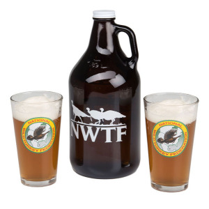 Growler and Glassware Set