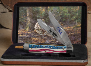 Knife of the Year - Case Star Spangled Knife in box