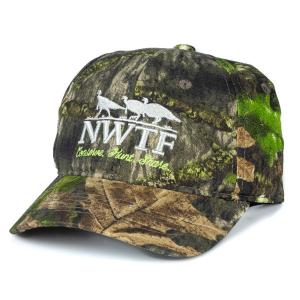 Ladies Cap NWTF MO Obsession DUK Crown w ponytail hole