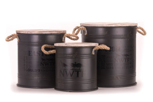 Set of 3 Urban Loft Containers w NWTF Logo