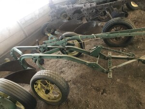 John Deere Two Bottom Trip Plow