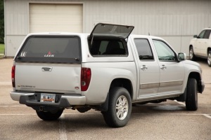 2012 Chevy Colorado 1LT 4x4 Extended Cab 5ft box (Silver)