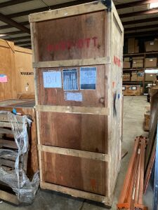Tradeshow Display in Large Crate
