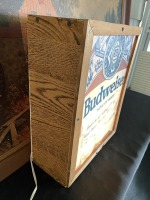 Budweiser Beer Lighted Sign - 4