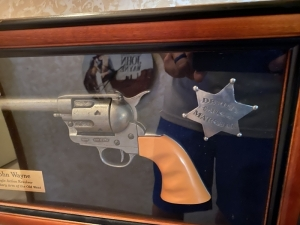 John Wayne Legendary Arm of the Old West - Replica Single Action Revolver