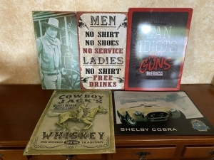 5 Reproduction Signs