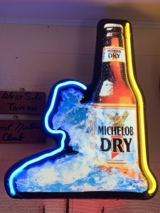 Michelob Dry Neon