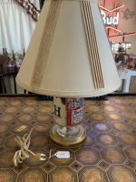 Vintage Budweiser Can Lamp