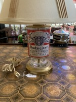 Vintage Budweiser Can Lamp - 2