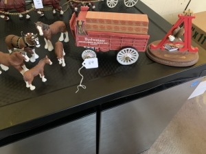 Anheuser-Busch Clydesdale Figures