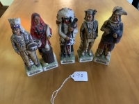 Ski Country Native American Decanters - 5