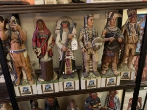 Ski Country Native American Decanters - 6