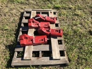 Pair of Farmall Frame Weights