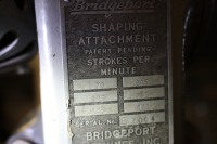 Bridgeport shaping attachment - 4