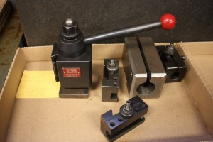 Dorian SD35CXA Quick Change tool post
