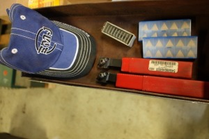 New Tool holders, inserts, shims