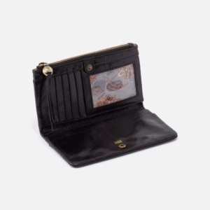 HOBO Wallets - Haye in Vintage Black