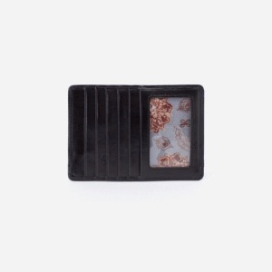HOBO Wallets - EURO SLIDE in vintage black