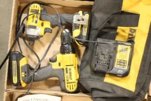 Dewalt impact driver and cordless drill