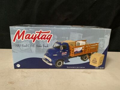MAYTAG 1953 FORD COE STAKE TRUCK