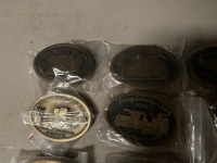 TEN MAYTAG COLLECTOR'S CLUB BELT BUCKLES - 2