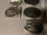 TEN MAYTAG COLLECTOR'S CLUB BELT BUCKLES - 3