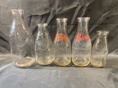 PEVELY DAIRY BOTTLES - 5