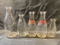PEVELY DAIRY BOTTLES - 5 - 5