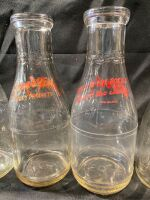 PEVELY DAIRY BOTTLES - 5 - 7